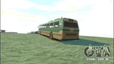 Ônibus de GTA 5 para GTA 4 traseira esquerda vista