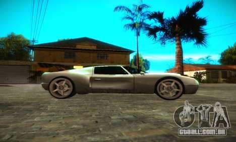Bullet GT32 Big Spoiler para GTA San Andreas esquerda vista