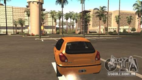Fiat Bravo 16v para GTA San Andreas vista direita