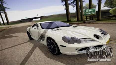 Mercedes-Benz SLR Mclaren para GTA San Andreas