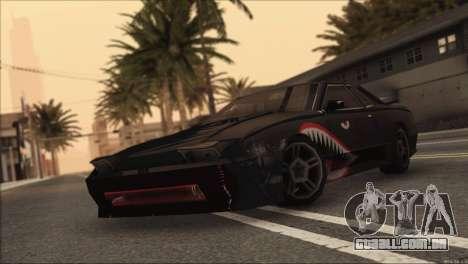 Elegy Sleep para GTA San Andreas traseira esquerda vista