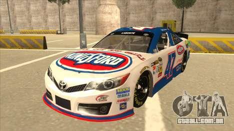 Toyota Camry NASCAR No. 47 Kingsford para GTA San Andreas