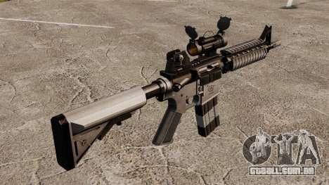 Automáticos carabina M4 CQBR v2 para GTA 4 segundo screenshot