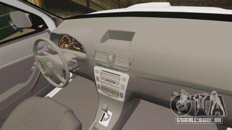 Toyota Hilux Croatian Police v2.0 [ELS] para GTA 4 vista lateral