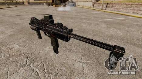 V1 de pistola-metralhadora HK MP7 para GTA 4 por diante tela