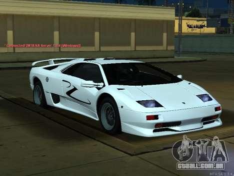 Lamborghini Diablo SV v2 para GTA San Andreas vista direita