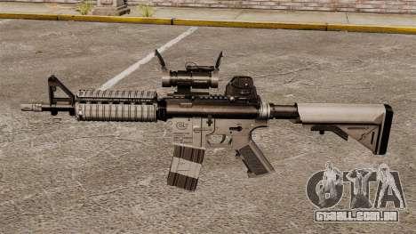 Automáticos carabina M4 CQBR v2 para GTA 4 terceira tela
