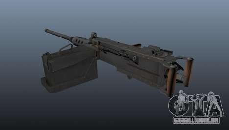 Maxim metralhadora Browning M2HB para GTA 4 segundo screenshot