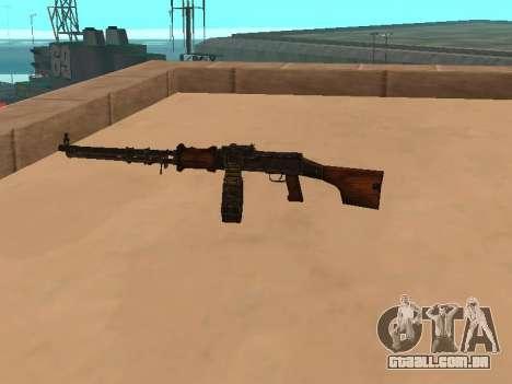 Light machine gun (RAP) [carece de fontes?] para GTA San Andreas segunda tela