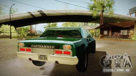Fasthammer para GTA San Andreas vista direita
