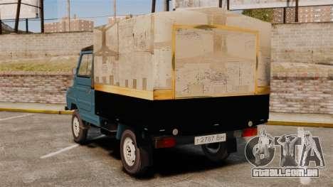 LuAZ-13021 para GTA 4 traseira esquerda vista