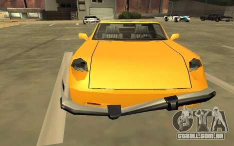 GTA V to SA: Realistic Effects v2.0 para GTA San Andreas décima primeira imagem de tela