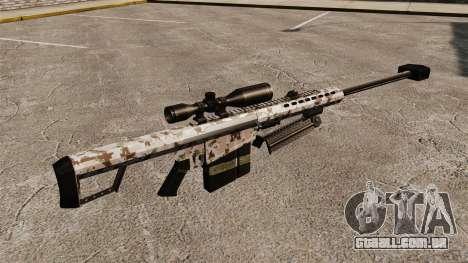 O Barrett M82 sniper rifle v5 para GTA 4 segundo screenshot