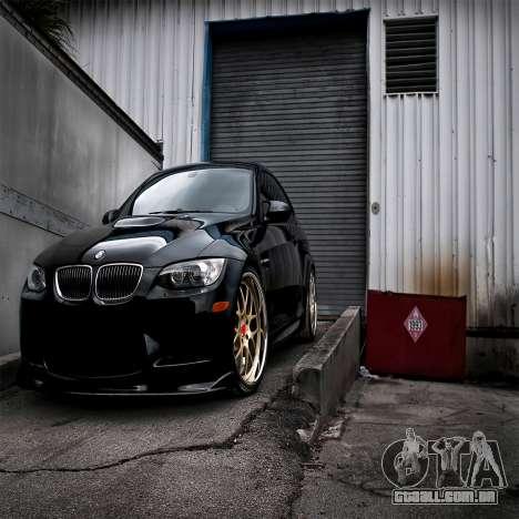 Tela de boot do BMW para GTA 4 oitavo tela