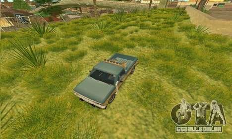 Bobcat armadura Off-Road para GTA San Andreas vista direita