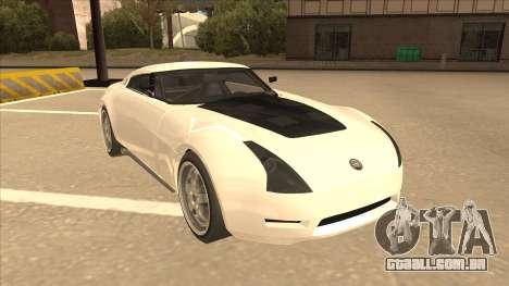 Melling Hellcat para GTA San Andreas esquerda vista