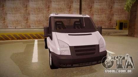 Ford Transit Drift Car para GTA San Andreas esquerda vista
