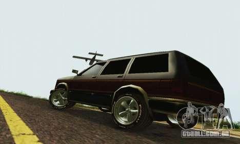 Nova Landstalker para GTA San Andreas esquerda vista