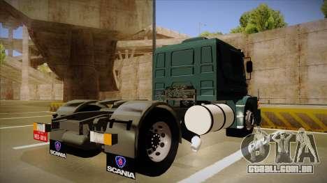 Scania 113H para GTA San Andreas vista direita