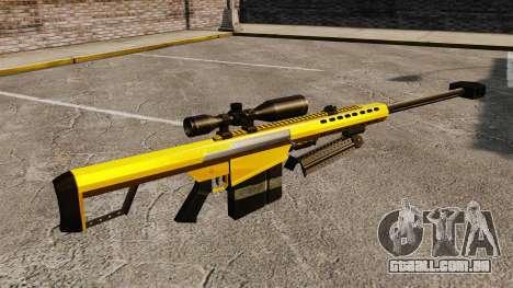 O Barrett M82 sniper rifle v3 para GTA 4 segundo screenshot