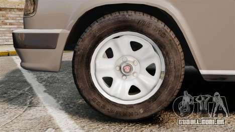 Volga GAZ-3110 Coupe para GTA 4 vista de volta