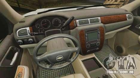 Chevrolet Tahoe Slicktop [ELS] v1 para GTA 4 vista de volta