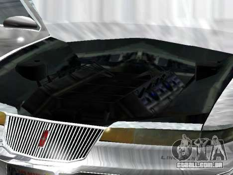 Lincoln Continental Mark VIII 1996 para GTA San Andreas vista direita