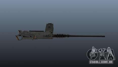 Maxim metralhadora Browning M2HB para GTA 4 terceira tela
