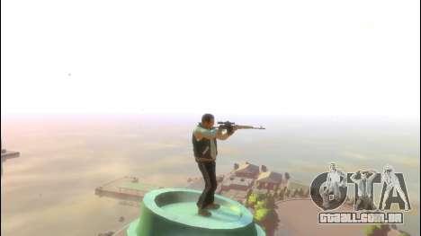 Rifle Sniper Dragunov para GTA 4 terceira tela