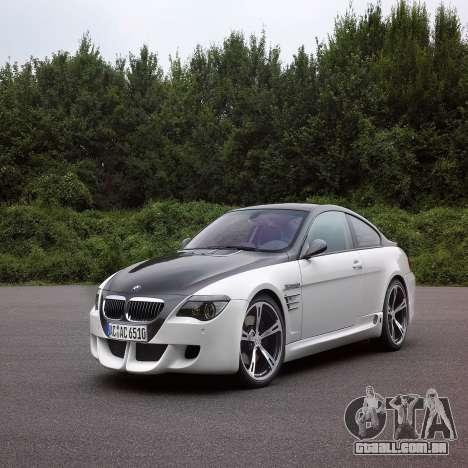Tela de boot do BMW para GTA 4 sexto tela