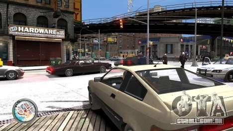 Map-Radar-HUD Pack para GTA 4 sexto tela