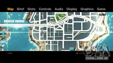 Map-Radar-HUD Pack para GTA 4 terceira tela