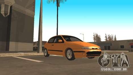 Fiat Bravo 16v para GTA San Andreas vista traseira
