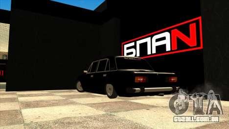 A garagem em Doherty BPAN para GTA San Andreas segunda tela