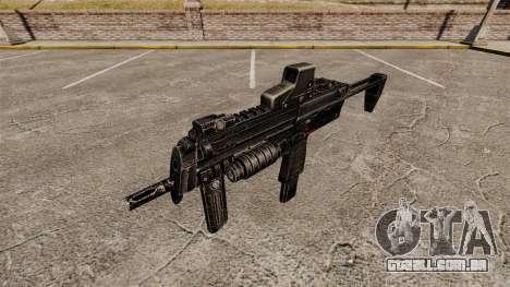 V1 de pistola-metralhadora HK MP7 para GTA 4 terceira tela