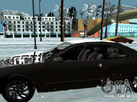 Lincoln Continental Mark VIII 1996 para GTA San Andreas interior