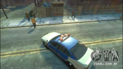 Polícia de GTA 5 para GTA 4 vista de volta