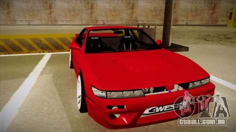 Nissan Silvia S13 Rocket Bunny para GTA San Andreas esquerda vista