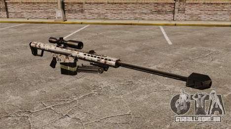 O Barrett M82 sniper rifle v5 para GTA 4
