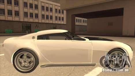 Melling Hellcat para GTA San Andreas traseira esquerda vista