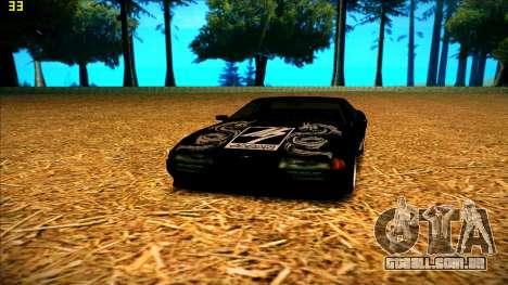 New paintjob for Elegy para GTA San Andreas por diante tela