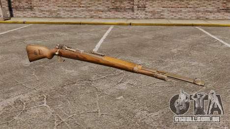 Mauser Karabiner 98k repetindo rifle para GTA 4
