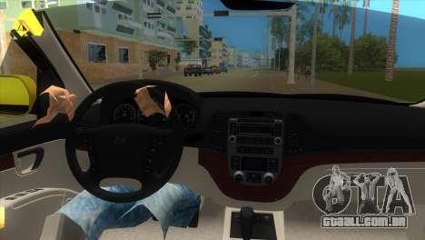 Hyundai Santa Fe 2006 para GTA Vice City vista direita