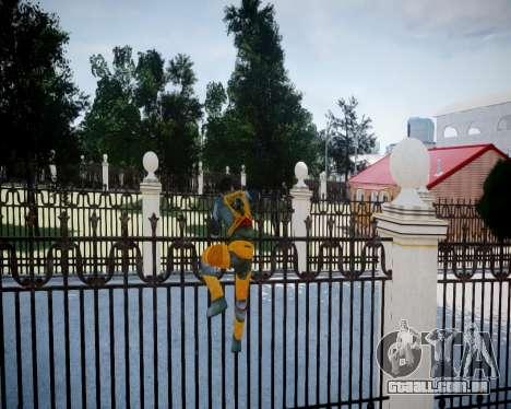 Gordon Freeman para GTA 4 nono tela