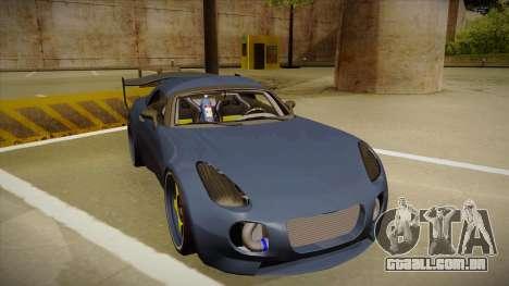Pontiac Solstice Rhys Millen para GTA San Andreas esquerda vista