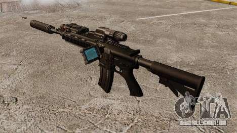 HK416 automático para GTA 4 terceira tela