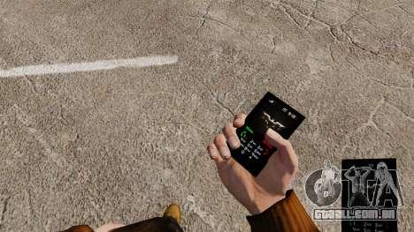O tema Dark Knight para seu telefone para GTA 4