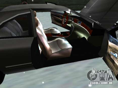 Lincoln Continental Mark VIII 1996 para GTA San Andreas vista interior
