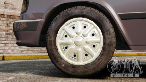 Volga GAZ-3110 para GTA 4 vista de volta