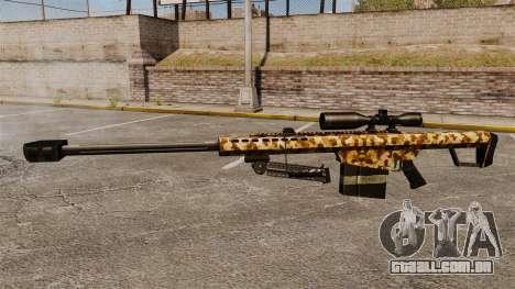 O Barrett M82 sniper rifle v10 para GTA 4 terceira tela